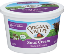 Organic Sour Cream product image.