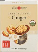 Organic Crystallized Ginger product image.