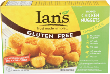 Ian's Breaded Chicken Nuggets Family Pack 20 oz product image.