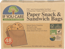 Paper Snack &Sandwich Bags product image.