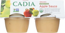 Organic Applesauce Cups product image.