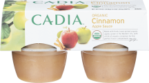 Organic Applesauce product image.
