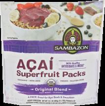 Organic Acai Smoothie Packs product image.