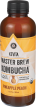 Pinapple Peach Kombucha Beverage product image.