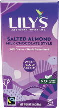 Lily's Sweets Assorted Chocolate Bars 2.8-3 oz product image.