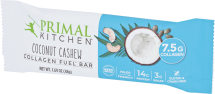 Primal Kitchen Cashew Coconut Bar 1.7 oz product image.