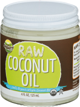 Raw Coconut Oil product image.