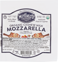 Organic Mozz Cheese product image.