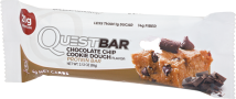 Questbar® Chocolate Chip Cookie Dough Protein Bar 2.12 oz product image.