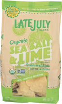 LATE JULY Tortilla Chips 11 oz Assorted Varieties product image.
