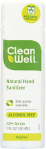 Natural Hand Sanitizer Spray product image.