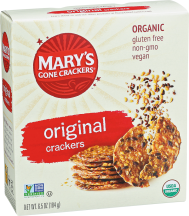 Organic Original Seed Crackers product image.