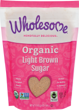 Organic Light Brown Sugar product image.