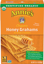 Organic Graham Crackers product image.