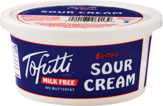 Tofutti Assorted Dairy Free Sour Cream 8 oz product image.