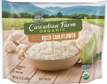 Organic Riced Cauliflower  product image.