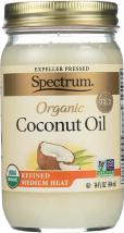 Spectrum Naturals Organic Coconut Oil 14 oz product image.