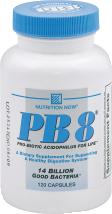 Nutrition Now Acidophilus 120 ct product image.
