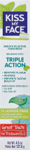 Kiss My Face Triple Action Toothpaste Gel 4.5 oz product image.