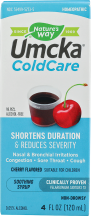 Umcka® ColdCare Cherry Syrup product image.
