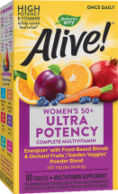 Alive!® Once Daily Ultra Potency Multi-Vitamin product image.