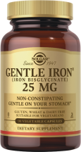 Gentle Iron® Vegetable Capsules product image.
