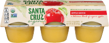 Organic Apple Sauce Cups product image.