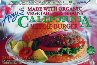 Assorted Veggie Burgers product image.