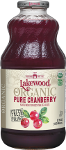 Organic Pure Cranberry Juice product image.