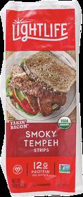 Organic Smoky Tempeh Strips product image.
