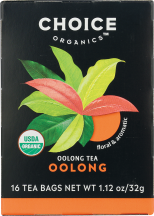 Organic Oolong Tea product image.