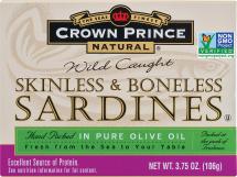 Skinless & Boneless Sardines in  product image.