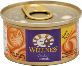 Wellness Assorted Cat Food 3 oz product image.