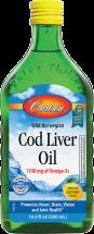 Lemon Cod Liver Oil product image.