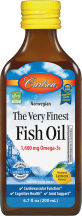 The Very Finest Fish Oil product image.