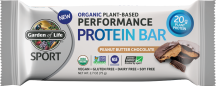 Organic Plant-Based Performance Protein Bar product image.