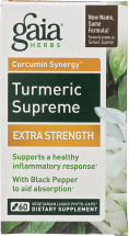 Turmeric Supreme Extra Strength product image.