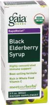 Organic Black Elderberry Syrup product image.