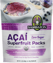 Organic Superfruit Smoothie Packs  product image.