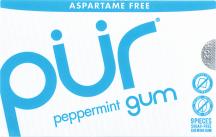 Pur Mints Gum Assorted Gum 9 pc product image.