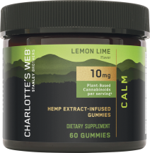 Hemp Extract-Infused Gummies product image.