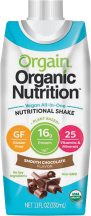 Orgain Assorted Protein Shakes 8.25 - 11 oz product image.