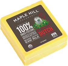 Maple Hill Creamery Assorted Grassfed Cheese 7 oz product image.