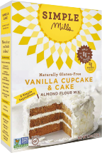 Simple Mills Assorted Cake or Muffin Mix 9 - 11.54 oz product image.