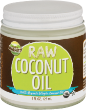 Organic Coconut Oil product image.