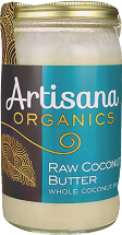 Organic Raw Coconut Butter product image.