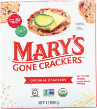 Assorted Gluten Free Crackers product image.