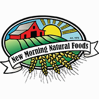 New Morning Natural Foods logo.
