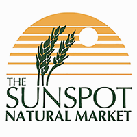 The Sunspot Natural Market logo.